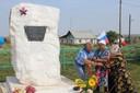 Открытие памятника воинам ВОВ